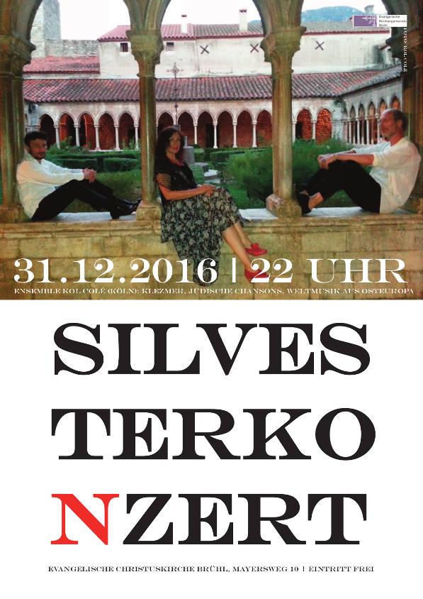 Plakat Konzert Brühl 2016